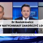 Dr Basiukiewicz: NALEŻY NATYCHMIAST ZAKOŃCZYĆ LOCKDOWN