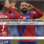 Raków Częstochow w półfinale Pucharu Polski!