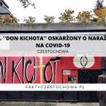 """WŁAŚCICIEL """"DON KICHOTA"""" OSKARŻONY O NARAŻENIE LUDZI NA COVID-19"""