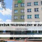 DYŻUR TELEFONICZNY W ZUS